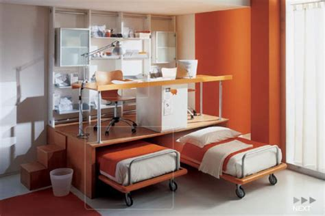 small bedroom workspace smart and small space interior to solve the limited