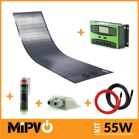 light weight solar panels mipv 55w solar panel kit mipv solar panels