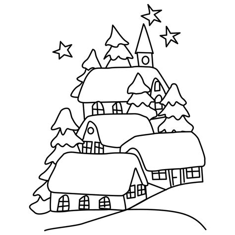 snow landscape coloring page winter snow landscape coloring pages memes