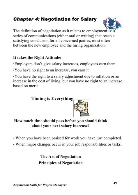 Compromise Agreement Negotiation Letter Negotiation Skills For Project Managers