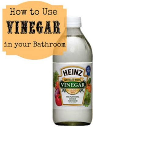 how to clean bathroom floor with vinegar from son up til son down using vinegar to clean the bathroom