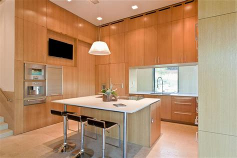full height kitchen cabinets understated two wing ranch house design modern house designs