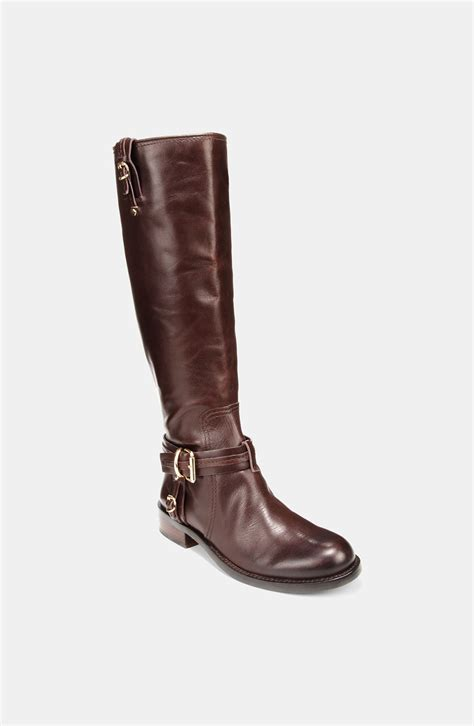 vince camuto boots vince camuto kabo boot in brown molten lyst