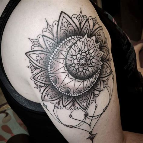 mandala moon tattoo sun moon mandala my newest by carrie