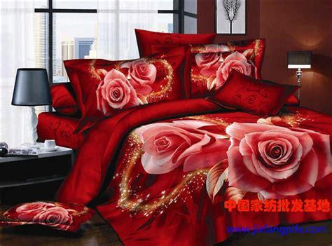 red rose comforter set 3d red rose flower print bedding comforter set queen size