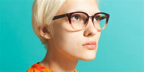 wearing glasses this makeup trick makes glasses stay on your nose makeup tips for glasses