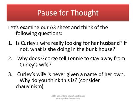 Of Mice And Essay Questions by Of Mice And Essay Questions Original Content