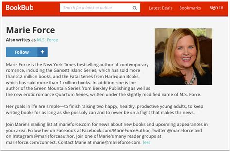 about the author template 20 fantastic bookbub author profile exles