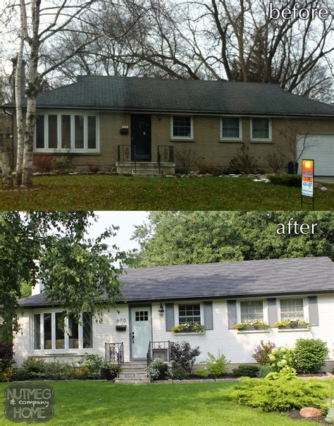 home curb appeal before and after nutmeg company home before after curb appeal part 2
