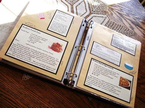Handmade Cookbook Ideas - recipe book a recipe book