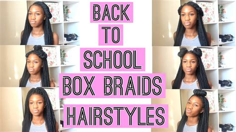 back to school weave hairstyles box braids hairstyles for back to school