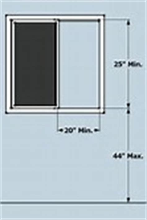 egress window size for bedroom basement egress window size smalltowndjs com