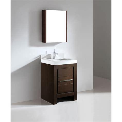 Madeli Vicenza 24 Quot Bathroom Vanity With Quartzstone Top Bathroom Vanity Free Shipping