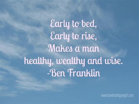 early to bed early to rise makes a man early to bed and early to rise makes a man healthy