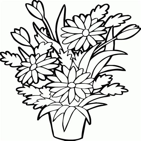 fiore da ritagliare fiori da colorare e ritagliare