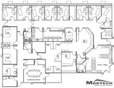 Medical Clinic Floor Plan Examples office pinterest medical office floor plan and office floor