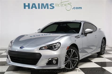 subaru coupe 2015 2015 used subaru brz 2dr coupe manual limited at haims