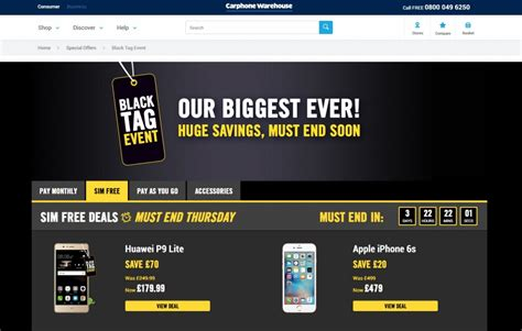 black friday 2016 best samsung s7 iphone and pixel smartphones deals from carphone