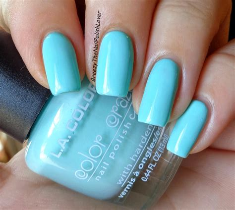 nail polish colors for the beach for women over 50 breezythenailpolishlover new l a color nail polish