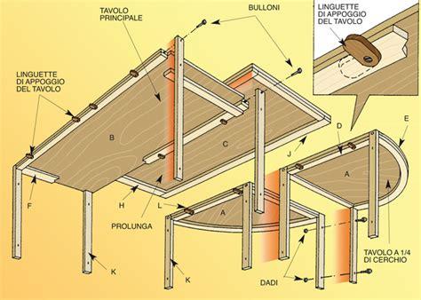tavolo componibile tavolo componibile bricoportale fai da te e bricolage