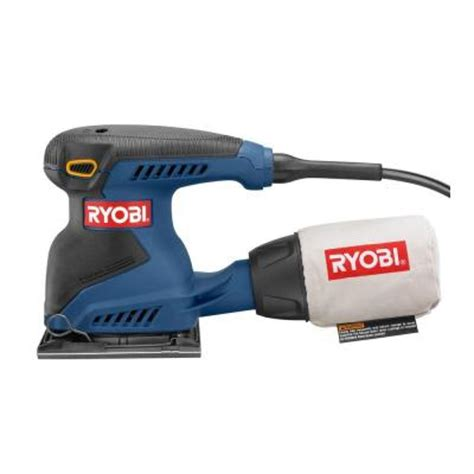 ryobi 2 1 4 sheet pad sander s652dk the home depot
