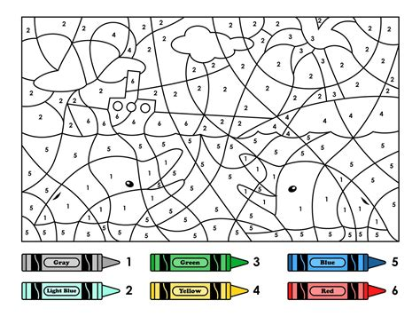 color by free color by number mosaic puzzle loving printable