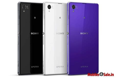 sony xperia z1 price in india specs review features wallpaper mobiles4sale