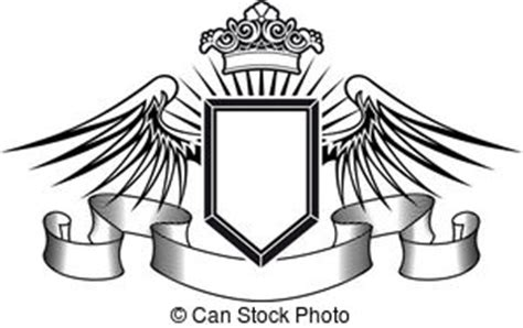 royal crown with wing tattoo images and stock photos 89