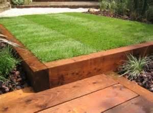 sleeper edging for lawn 5 st marys garden