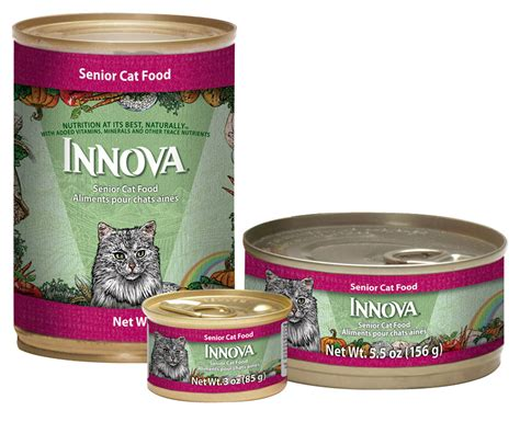innova food innova senior canned cat food cat food petflow