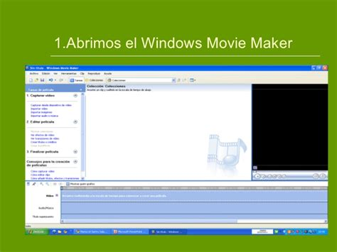 tutorial como usar windows movie maker c 243 mo utilizar el windows movie maker 1 1 1