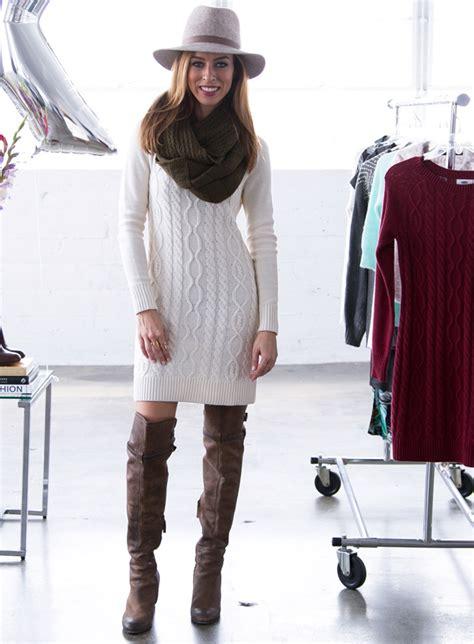 wear a knit how to style a knit dress dress ideas