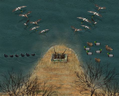 layout hunting decoy spreads ridiculously smart decoy strategies