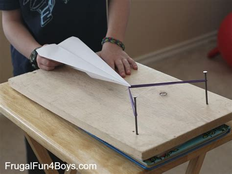 How To Make A Paper Plane That Shoots - paper airplane launcher