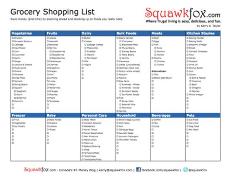 printable grocery list nz healthy food grocery list pdf weight loss cleanse nz