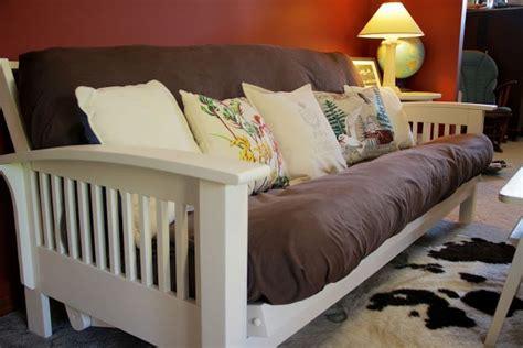 paint futon white home office decor ideas pinterest