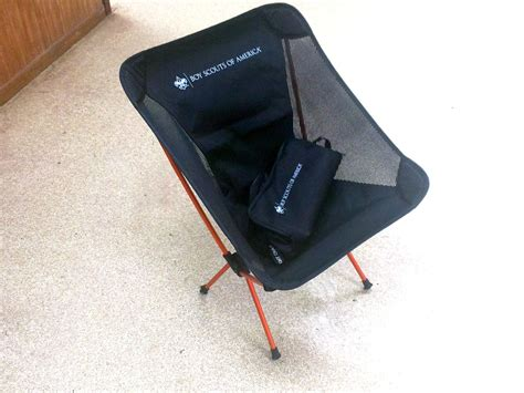 Lightweight Backpacking Chair by Europe Backpacking