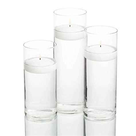 Floating Candle Vase Set Eastland Cylinder Floating Candle Vase Set Of 36 Import