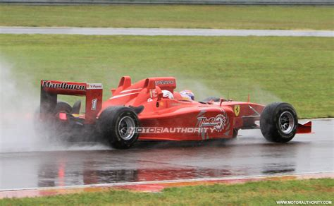 Ferrari 3 Seater F1 by Image Ferrari Red Rush Three Seater F1 Car Spy Shots