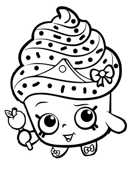 shopkins coloring pages cupcake queen shopkins clipart cupcake queen bbcpersian7 collections