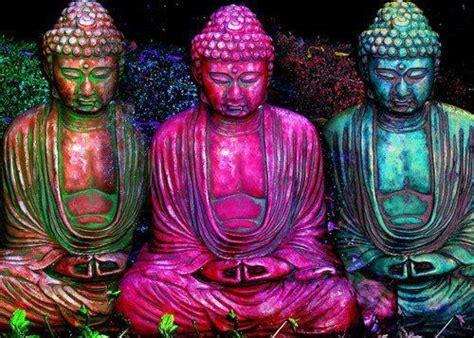 colorful buddha colorful buddhas buddah