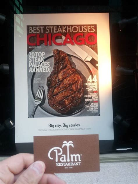 The Palm Restaurant Gift Card - the palm restaurant chicago restaurant in chicago chicagobeststeak com