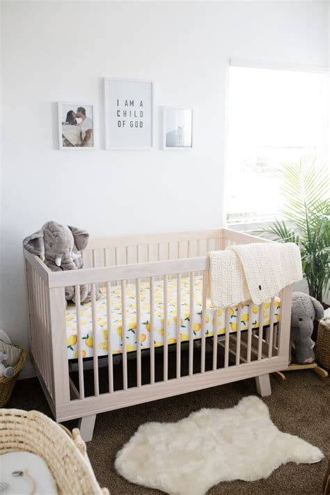 Macy S Baby Cribs Readers Favorite Modern Boho Nursery With A Punch Of Tropics Project Nursery
