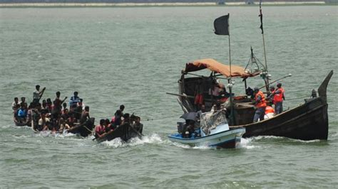 myanmar few survivors from refugee boat tragedy off the - Refugee Boat Tragedy