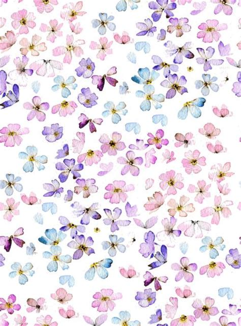 pastel flower pattern wallpaper iphone 6 plus