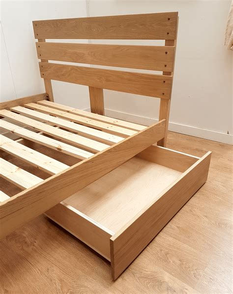 Wood Bed Storage Drawers by Underbed Wooden Drawers Riverwood Bedmakers