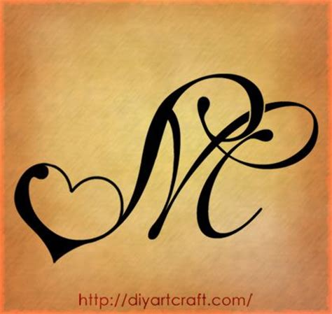 tattoo design with letter m ms tattoo cuore tats pinterest videos search and