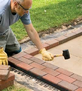image gallery laying a patio