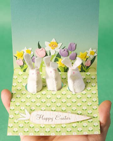 make a easter card card how to martha stewart