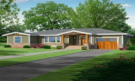 craftsman style ranch homes ranch style house craftsman style ranch home with front